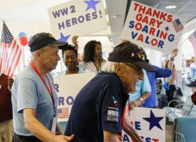 Advocate: Soaring Valor Airport Arrival