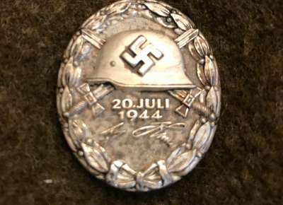 July 20, 1944 German Wound Badge